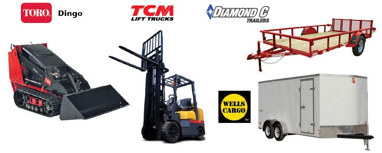 Equipment Rentals, Tool Rentals, Parts & Service serving