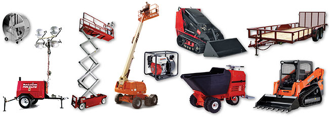 Equipment Rentals in North Dakota and North Central Minnesota