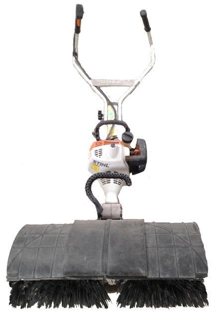 Sweeper Power Broom Stihl Mm55 Rentals Grand Forks Nd