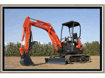 Where to find Mini Backhoe Excavator, U35R Kubota in Grand Forks