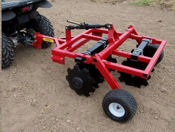 Sod Buster Atv Pull Behind Disc 46 Inch Rentals Grand