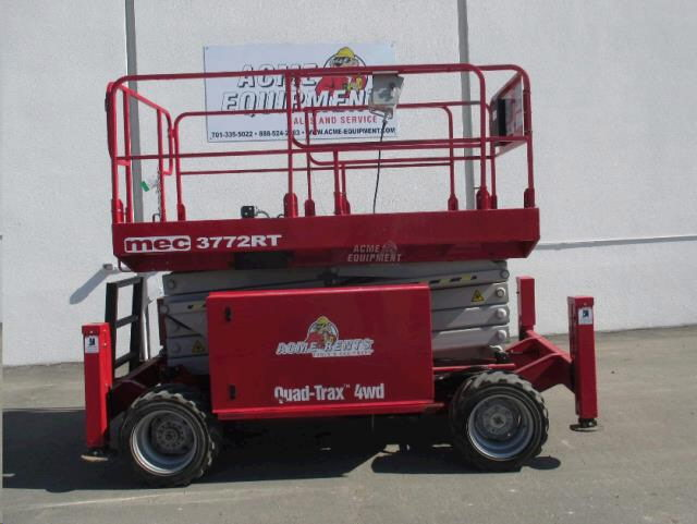 Where to find 37  Scissor Lift DF Mec 3772RT W OR in Grand Forks