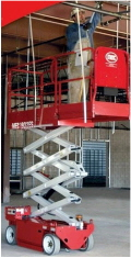 Where to rent 19  Scissor Lift Elec Mec 1932ES RC in Grand Forks ND
