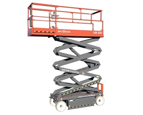 Where to find 26  Scissor Lift Elec Skyjack 3226 in Grand Forks