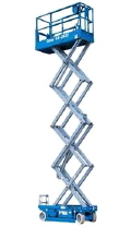 Where to rent 26  Scissor Lift  Elec Genie GS-2632 in Grand Forks ND