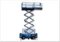 Where to rent 32  Scissor Lift DF Genie GS-3268RT in Grand Forks ND