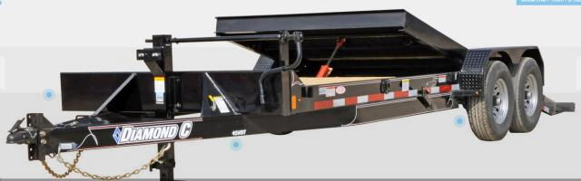 Where to find 20  Tilt Bed Trailer 20X82 GALV in Grand Forks