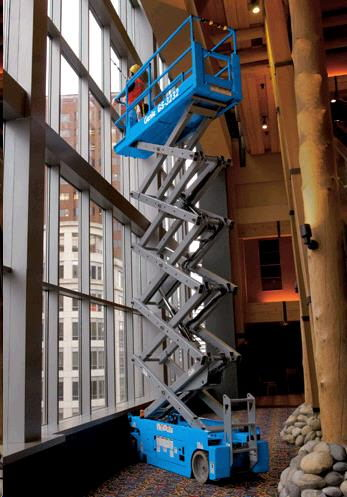 Where to find 32  Scissor Lift Elec Genie GS-3232 in Grand Forks