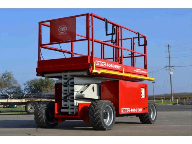 Where to find 40  Scissor Lift D F-OR Mec 4069RT in Grand Forks