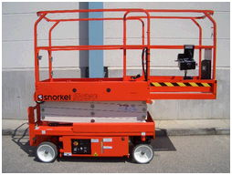Where to find 19  Scissor Lift Elec Snorkel S1930 in Grand Forks