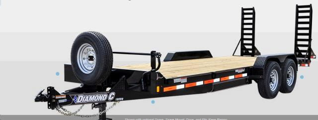 Where to find Diamond C 14  Gal 2 AxleTrailer 8k Ramp in Grand Forks