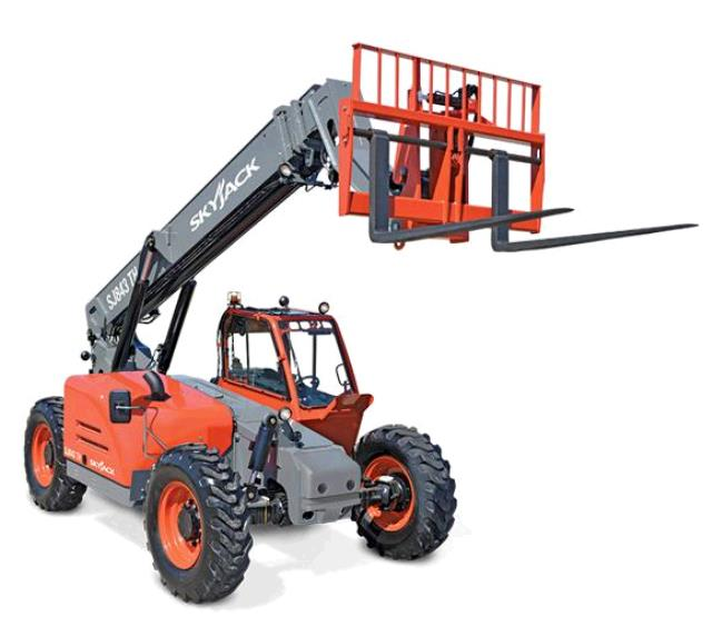 Where to find 43   8K Telehandler Skyjack SJ843TH CAB in Grand Forks