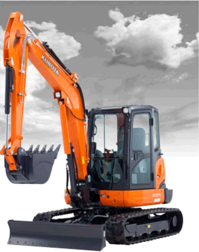 Where to find KUBOTA KX057 EXCAVATOR W CAB in Grand Forks