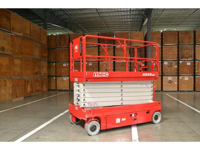 Where to find 45  MEC SCISSOR LIFT 4555SE in Grand Forks