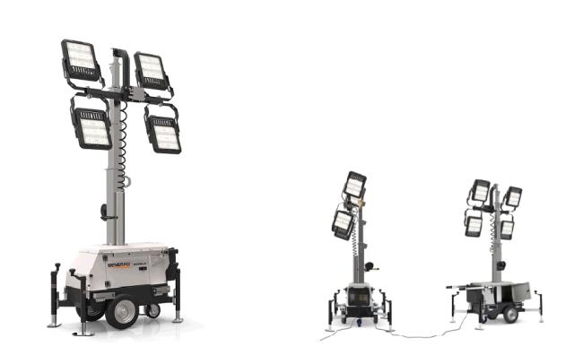 Where to find GENERAC LED LINK LIGHT TOWER in Grand Forks