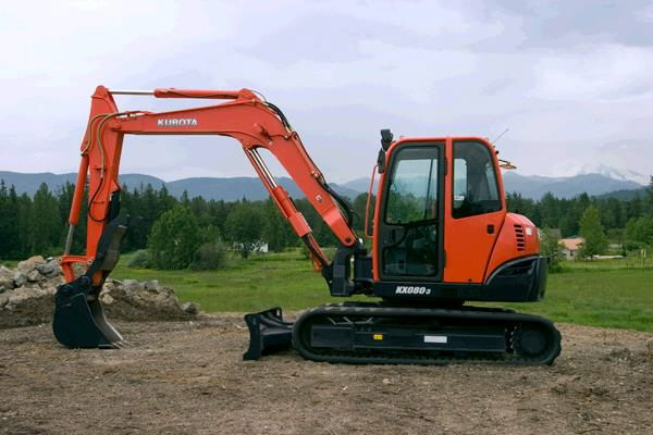 Where to find KX080 KUBOTA EXCAVATOR in Grand Forks