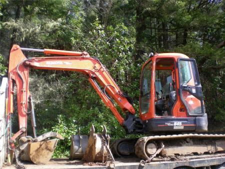 Where to find Excavator U45R3AT3 KUBOTA W CAB in Grand Forks
